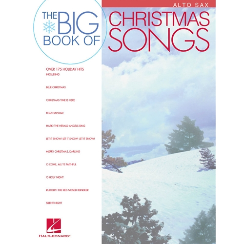 Big Book of Christmas Songs for Alto Saxophone