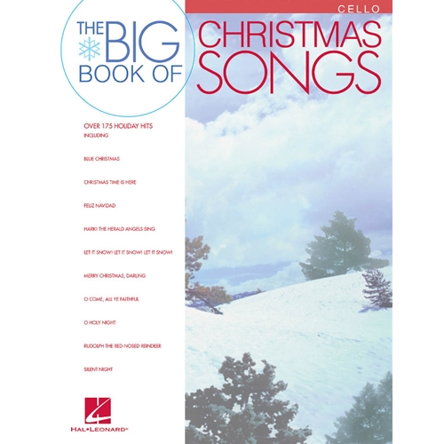 Big Book of Christmas Songs for Cello