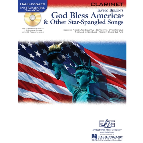 God Bless America & Other Star-Spangled Songs for Clarinet