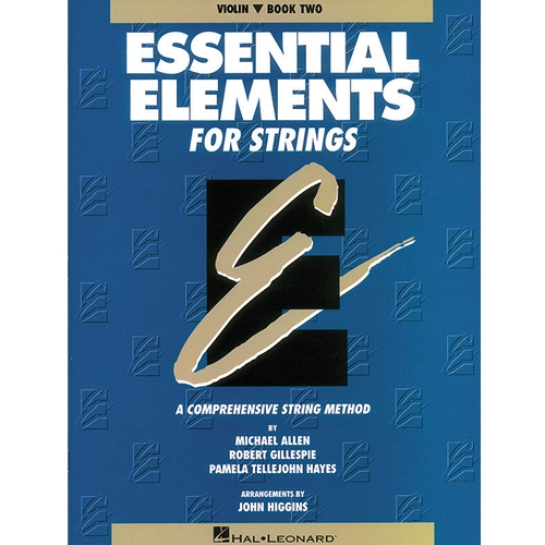 ORIGINAL EDITION Essential Elements for Strings - Violin, Book 2