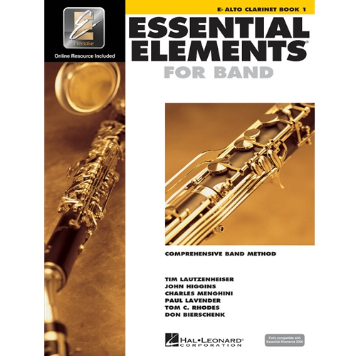 Essential Elements for Band - Alto Clarinet, Book 1