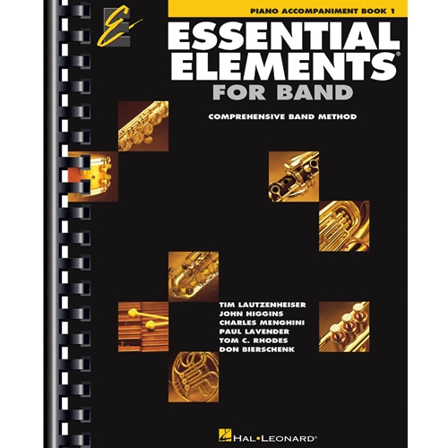Essential Elements for Band - Piano Accompaniment, Book 1