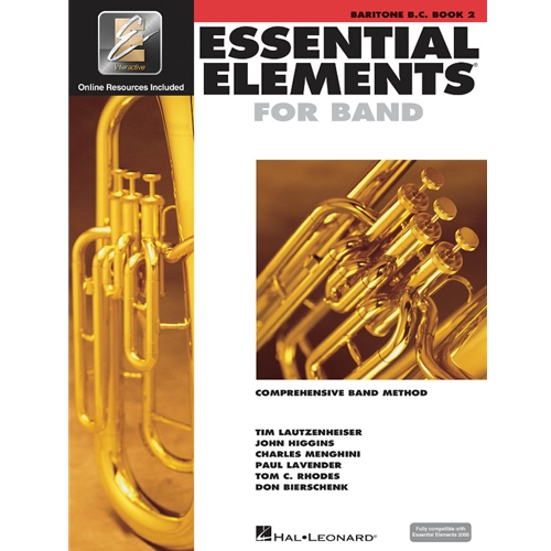 Essential Elements for Band - Baritone Bass Clef, Book 2