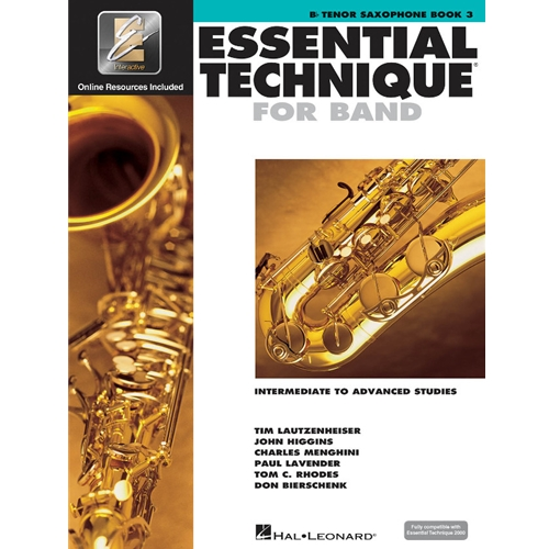 Essential Technique for Band, Tenor Saxophone