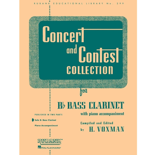 Concert and Contest Collection for Bass Clarinet (Solo Book)