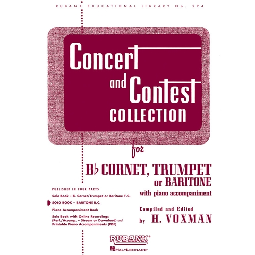 Concert and Contest Collection for Baritone Bass Clef (Solo Book)