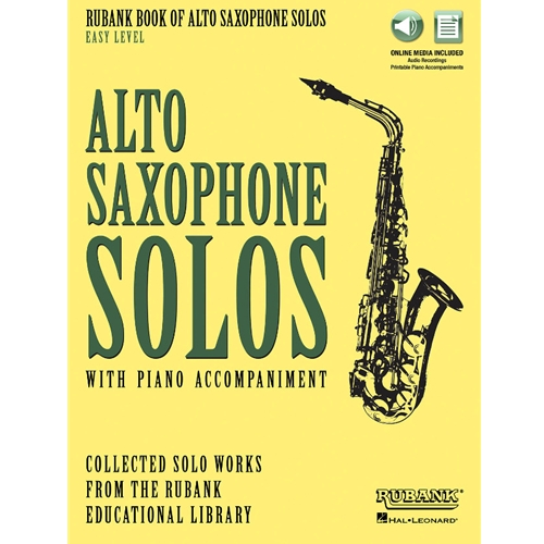 Rubank Book of Alto Saxophone Solos, Easy Level