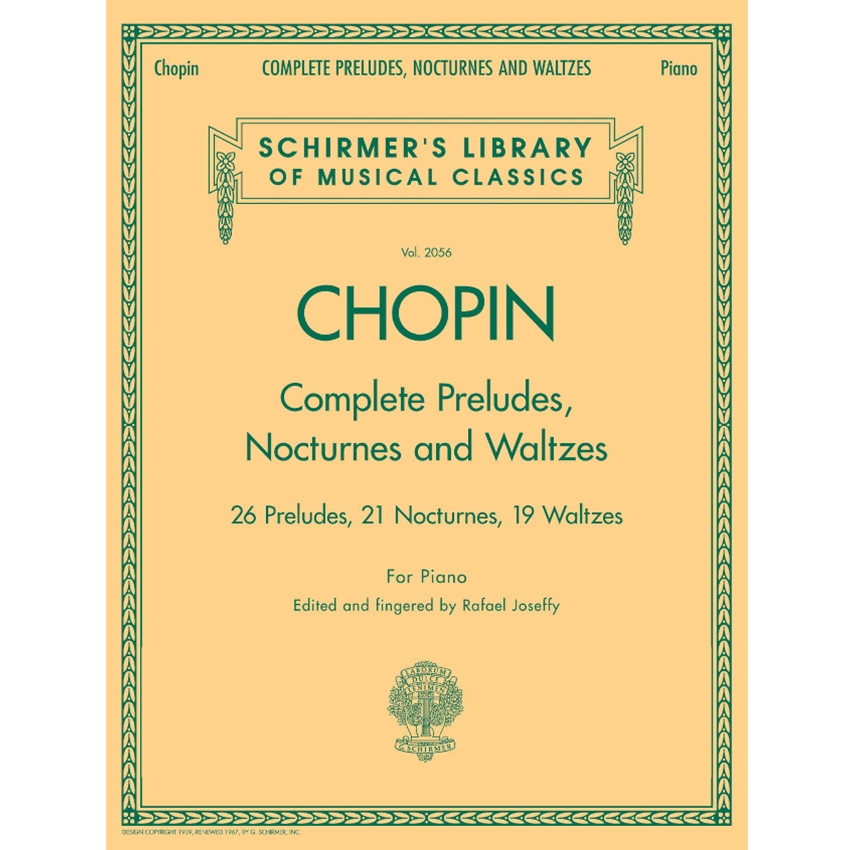 CHOPIN - Complete Preludes, Nocturnes and Waltzes