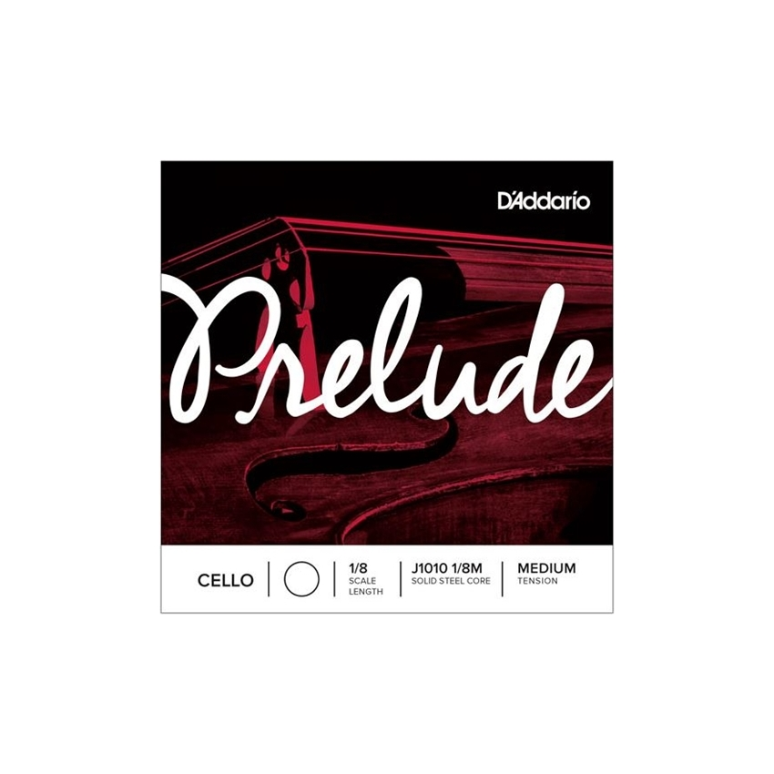Prelude Cello Single D String, 1/8 Scale, Medium Tension