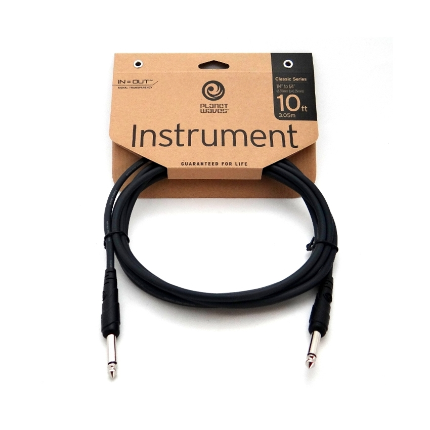 10 feet Planet Waves Classic Series Instrument Cable