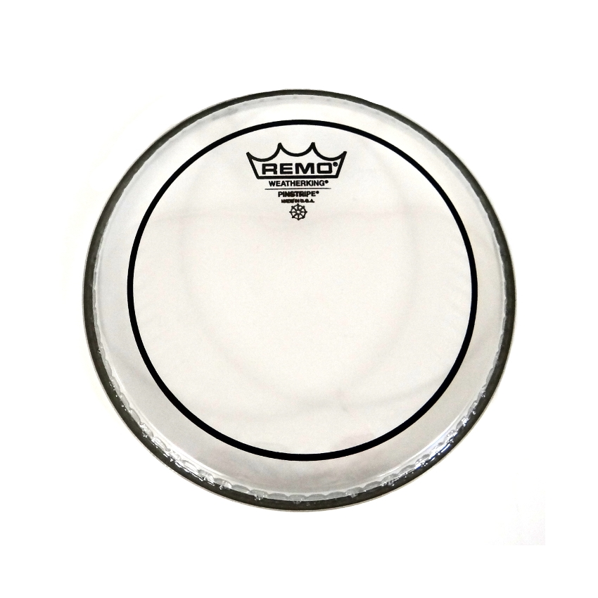 "Remo Pinstripe 8"" Batter Head Clear"