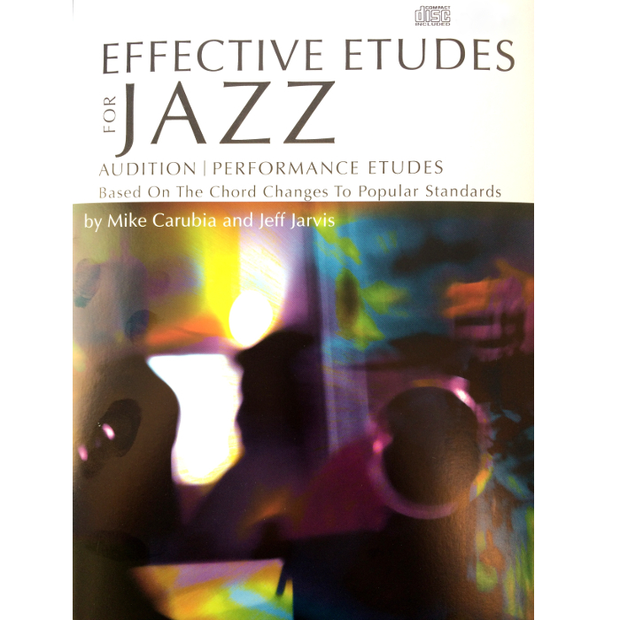 Effective Etudes For Jazz - Alto Saxophone (Book w/CD)