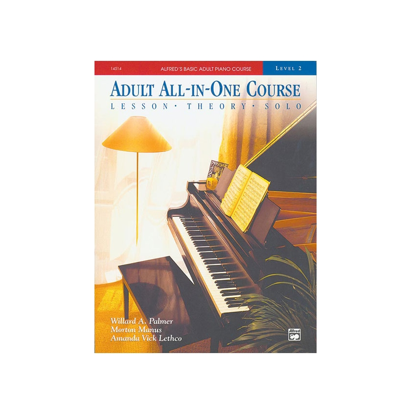 Alfred's Basic Adult All-in-One Piano Course, Book 2