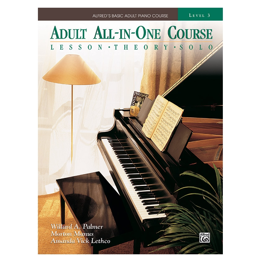 Alfred's Basic Adult All-in-One Piano Course, Book 3