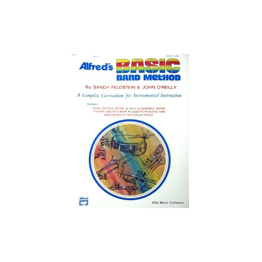 Alfred's Basic Band Method - Percussion (Snare Drum, Bass Drum, Accessories), Book 1