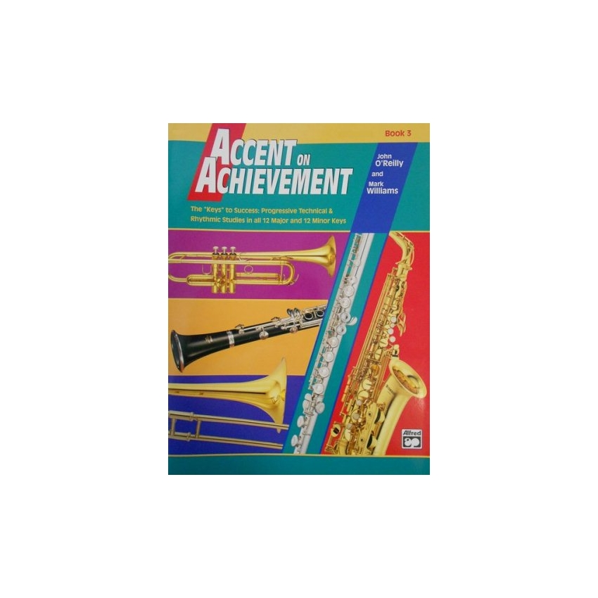 Accent on Achievement - Alto Saxophone, Book 3