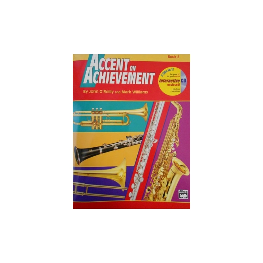 Accent on Achievement - Combined Percussion, Book 2