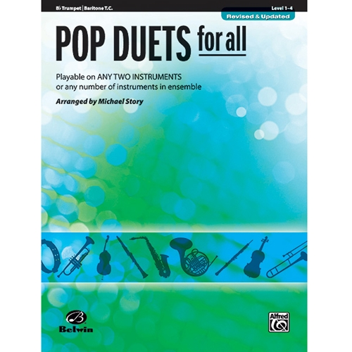 Pop Duets for All - Bb Trumpet or Baritone T.C.