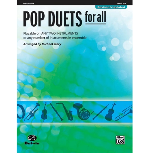 Pop Duets for All - Percussion