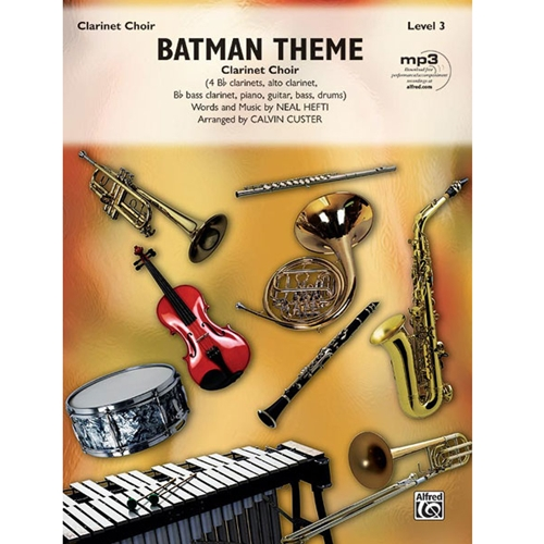 Batman Theme for Clarinet Choir