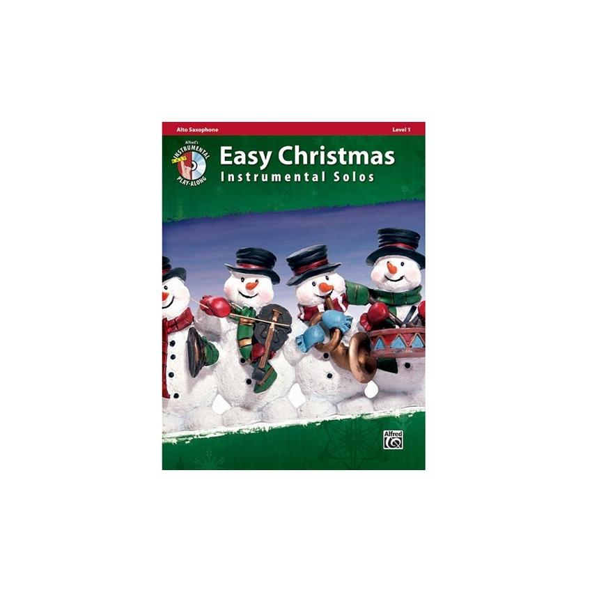 Easy Christmas Instrumental Solos for Alto Saxophone