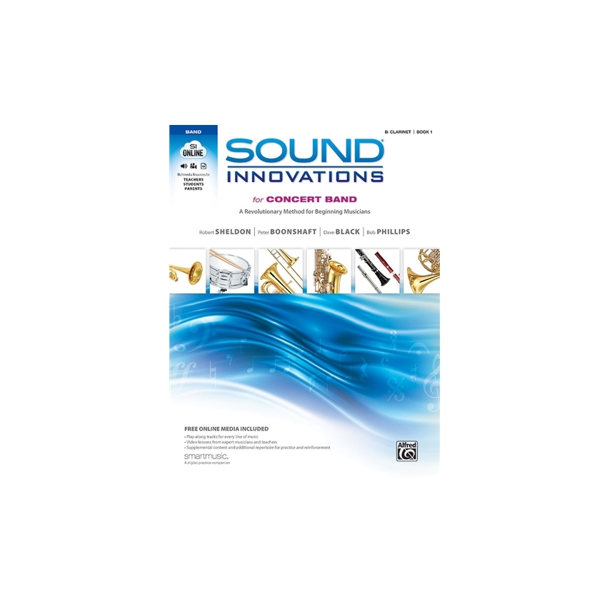 Sound Innovations for Concert Band - Clarinet, Book 1