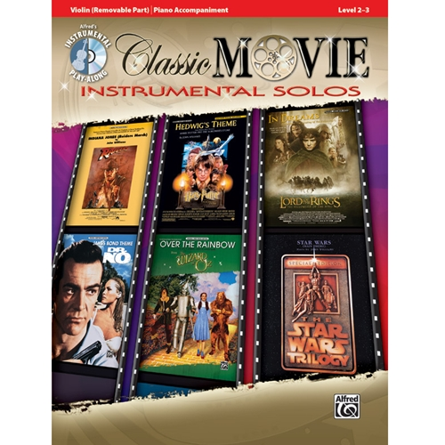 Classic Movie Instrumental Solos for Violin