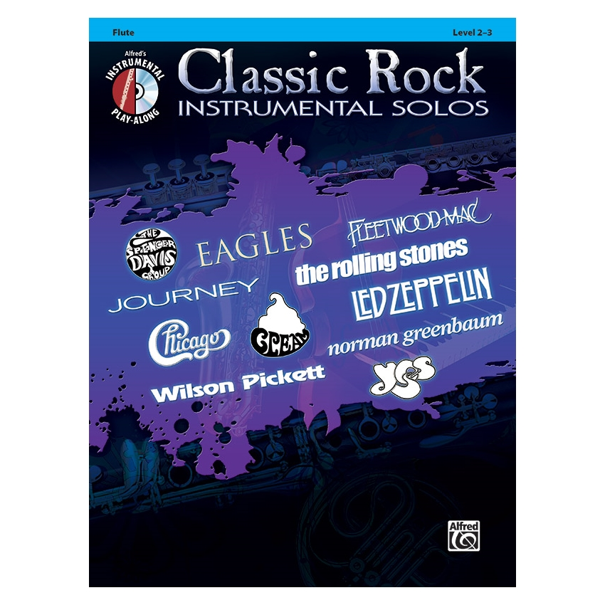 Classic Rock Instrumental Solos for Flute