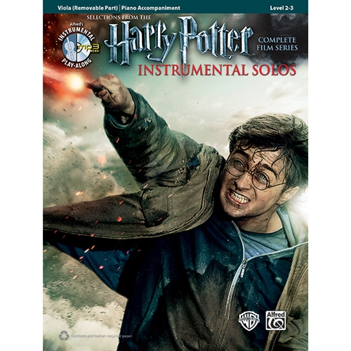 Harry Potter Instrumental Solos for Viola