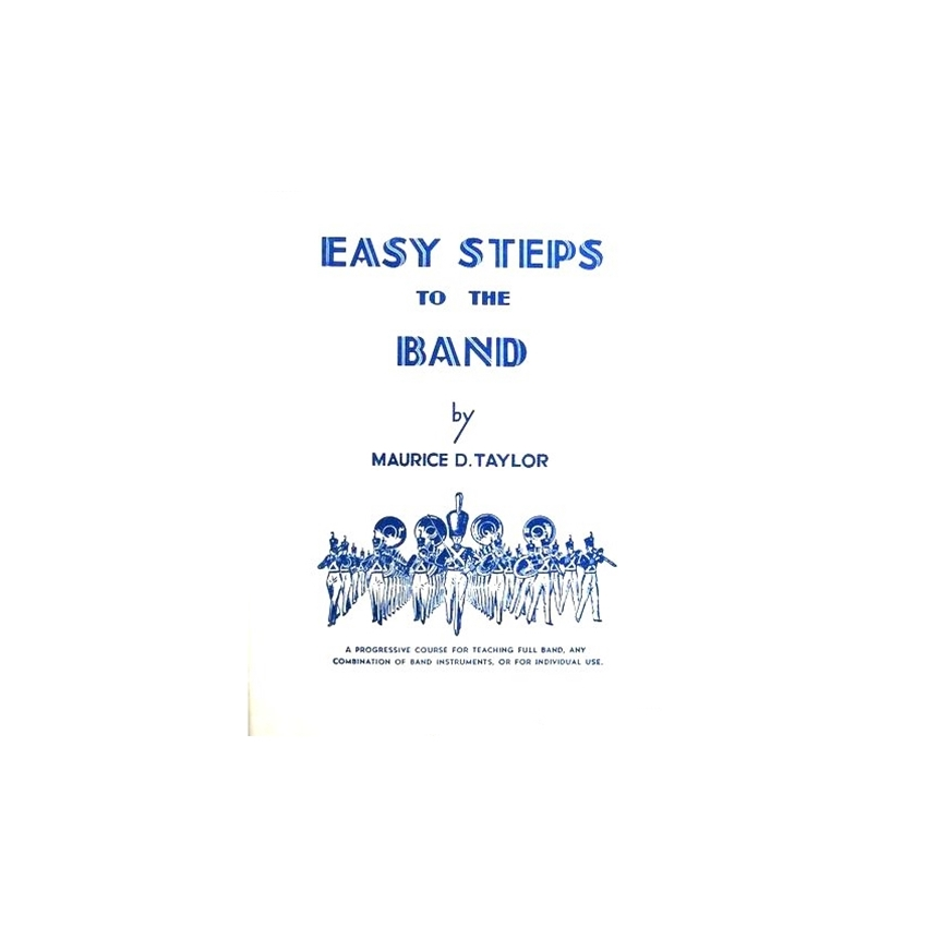 Easy Steps to the Band for Tenor Saxophone