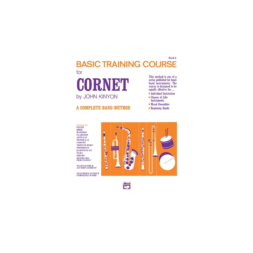 John Kinyon's Basic Training Course for Cornet (Trumpet), Book 2