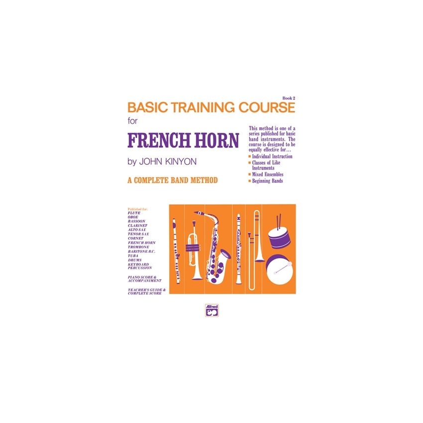 John Kinyon's Basic Training Course for French Horn, Book 2