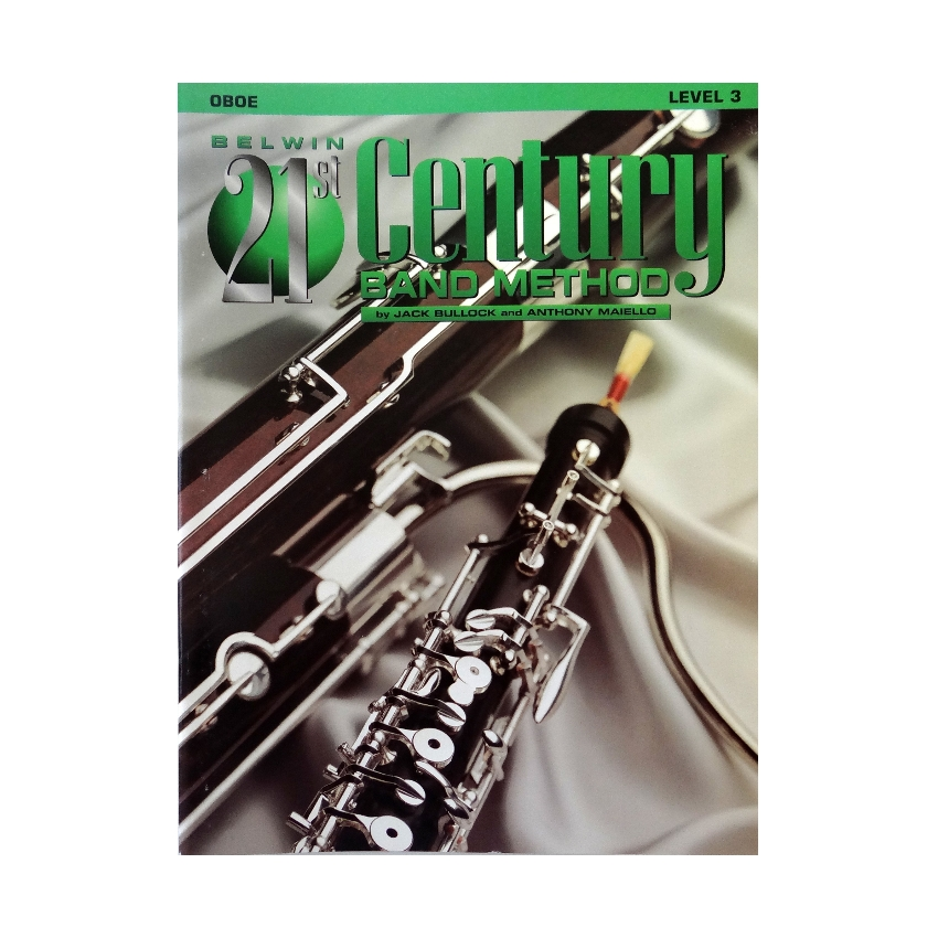 Belwin 21st Century Band Method - Oboe, Level 3