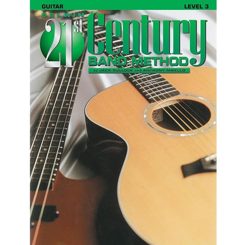 Belwin 21st Century Band Method - Guitar, Level 3