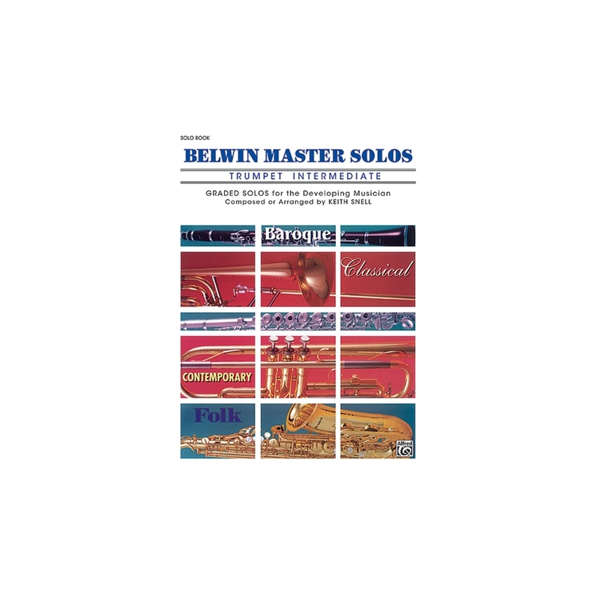 Belwin Master Solos for Trumpet, Volume 1 Intermediate