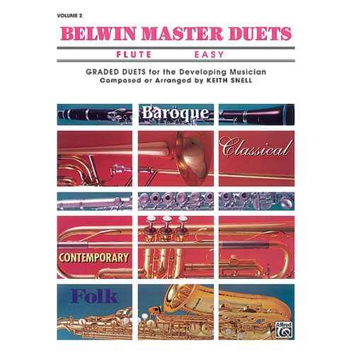 Belwin Master Duets for Flute, Easy Volume 2