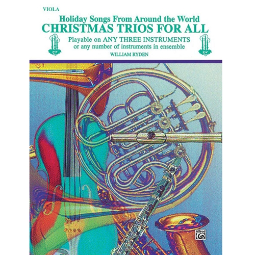 Christmas Trios for All - Viola