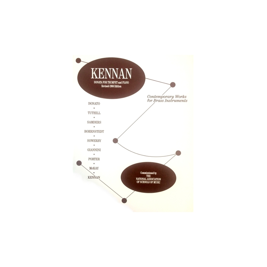 KENNAN - Sonata for Trumpet & Piano (Revised Edition)