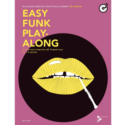 Easy Funk Play-Along for Clarinet