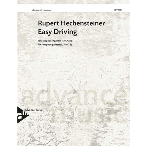 Easy Driving for Saxophone Quintet (SAAATB)