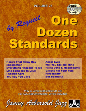 Aebersold Volume 23 - One Dozen Standards