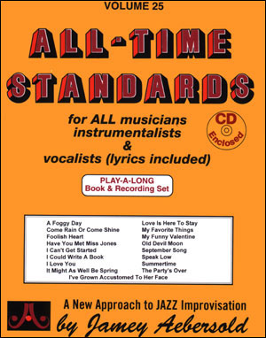 Aebersold Volume 25 - All-Time Standards