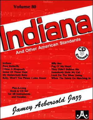 Aebersold Volume 80 - Indiana