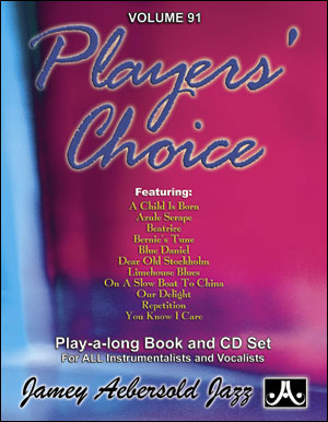 Aebersold Volume 91 - Players' Choice