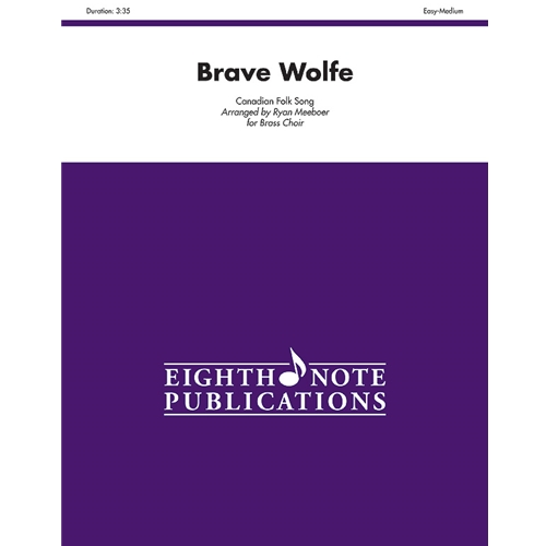 Brave Wolfe for Brass Choir