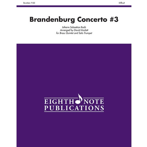 Brandenburg Concerto #3 for Brass Quintet and Solo Trumpet