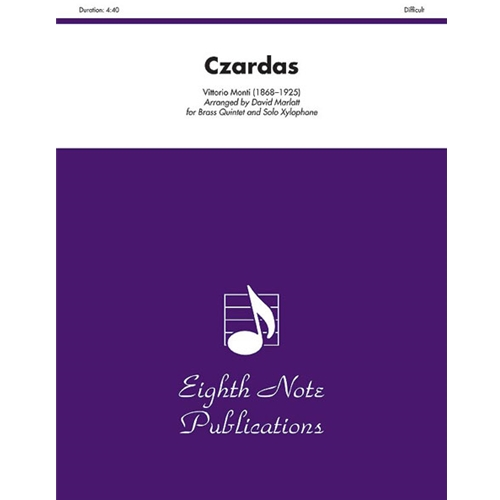 Czardas for Brass Quintet and Solo Xylophone