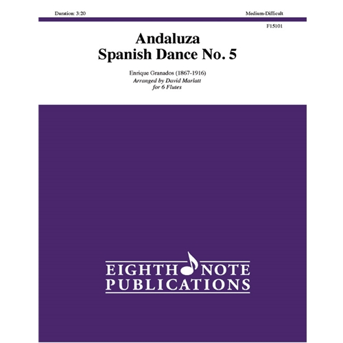 Andaluza Spanish Dance No. 5 for 6 Flutes