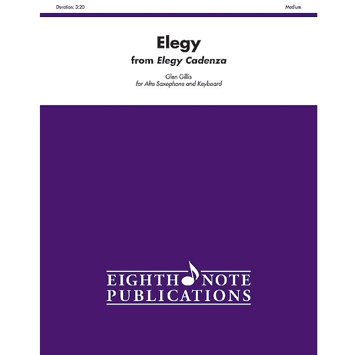 GILLIS - Elegy from Elegy Cadenza for Alto Saxophone & Keyboard