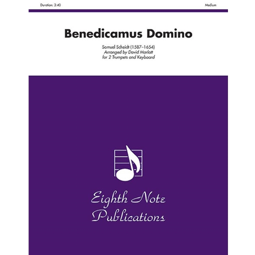 Benedicamus Domino for 2 Trumpets & Keyboard